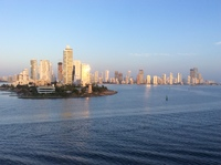 Cartagena, Colombia skyline