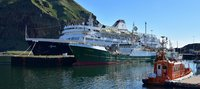 CMV MV Azores Heimey harbour Westman Islands Iceland