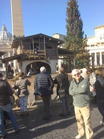 Vatican square in December