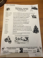 Christmas Day schedule
