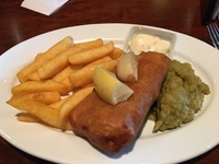 Fish and Chips in the Golden Lion