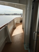 Balcony starboard side