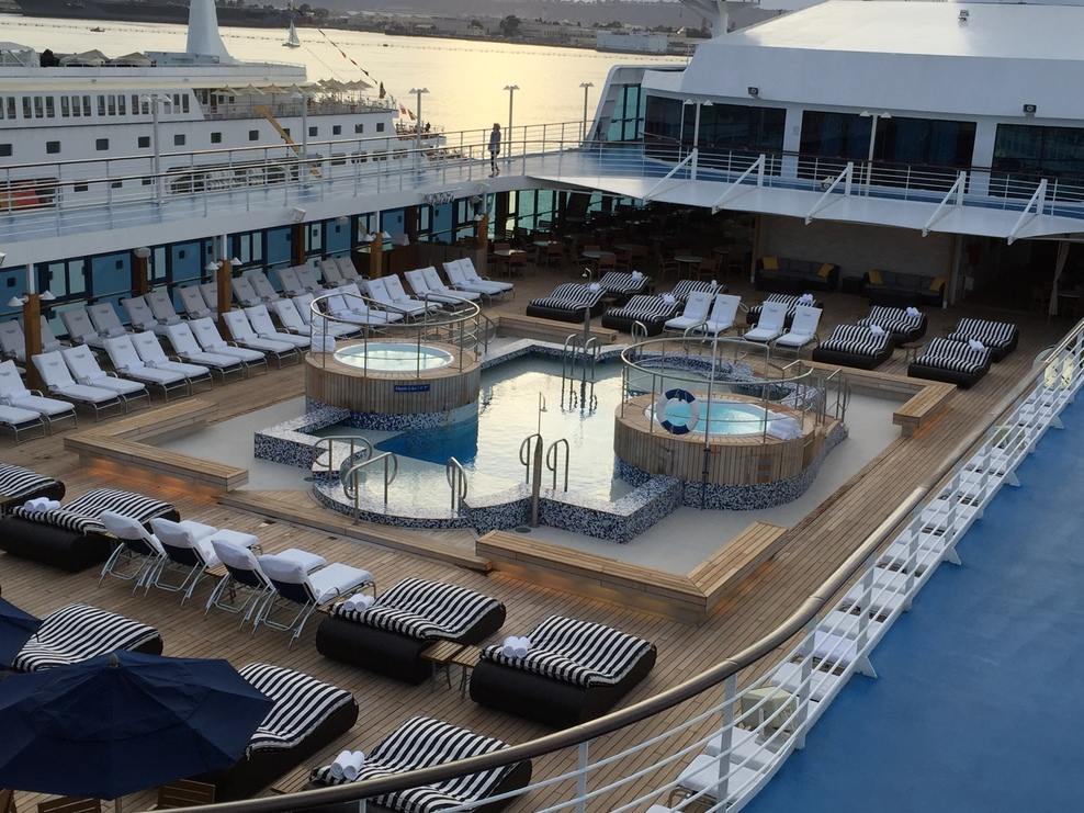 Pool deck ... A relaxing space