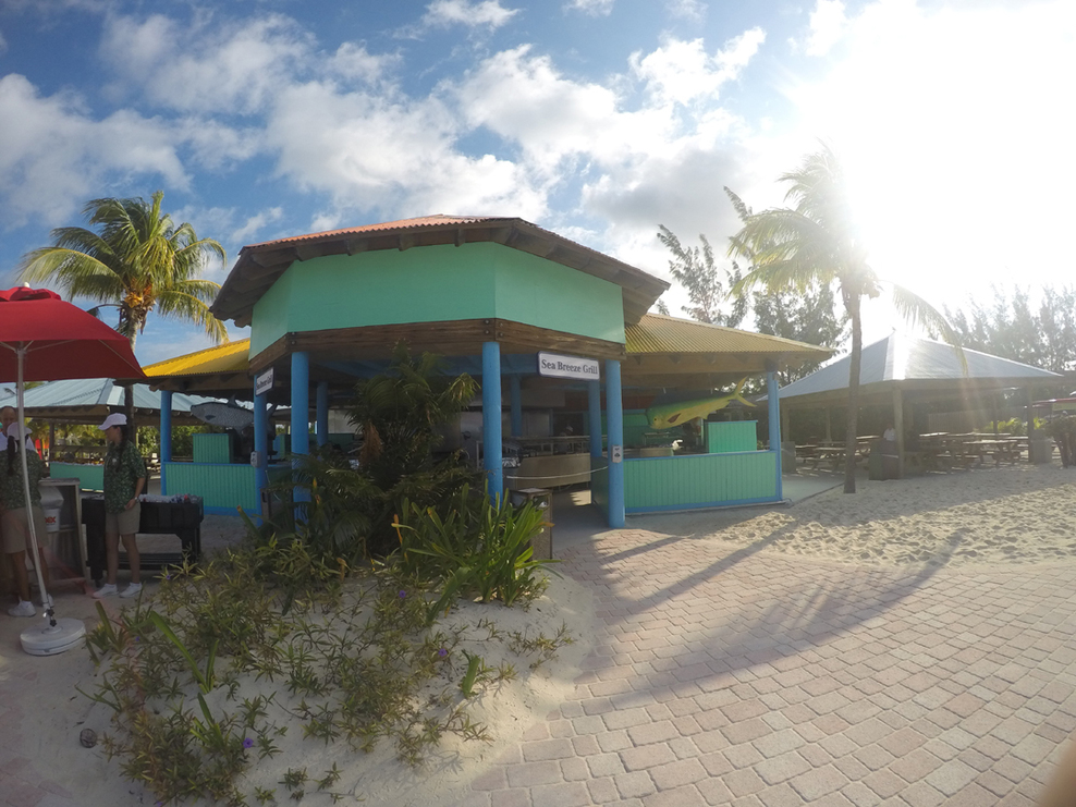 Princess Cay Sea Breeze Cafe