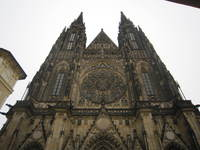 St. Vitus Cathedral, Castle Hill, Prague