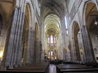 St. VItus Cathedral, Interior View