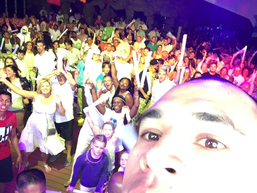 NCL Glow Party