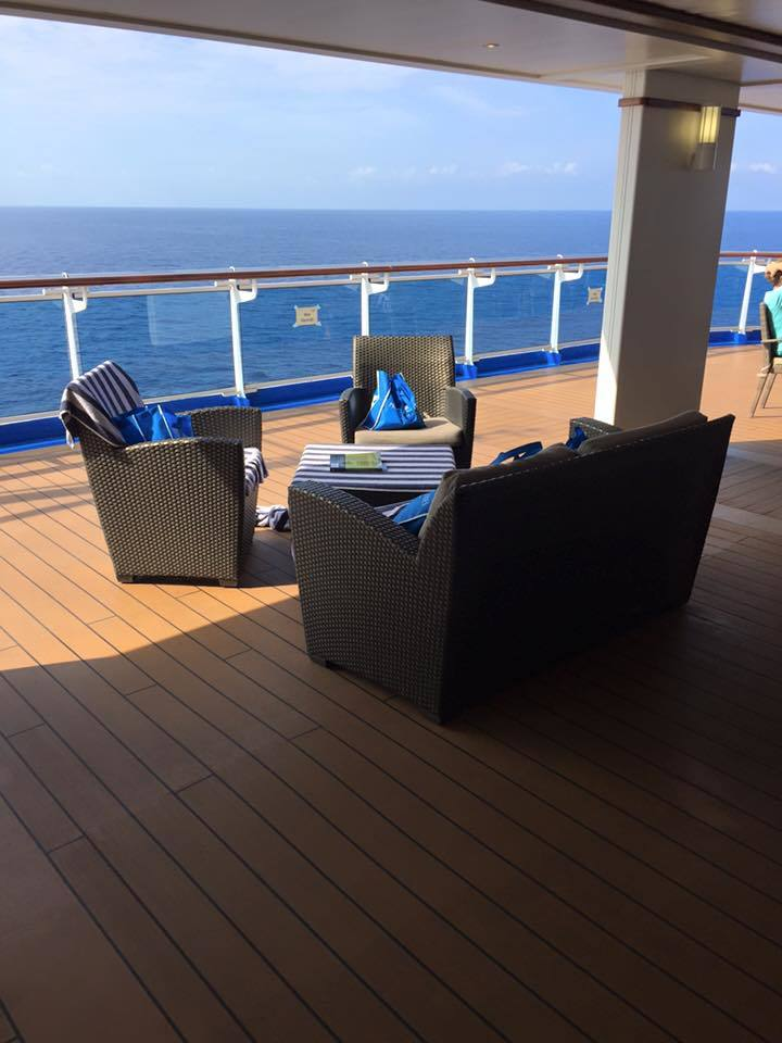 Best spot on the ship!!