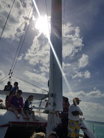 The Catamaran Excursions,.. worth every cent. Breathtaking views of every i