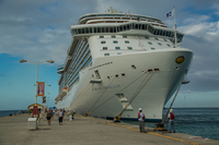 The Royal Princess in St Martin