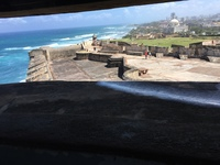 View from the gun emplacement