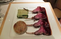 Great lamb and presentation!