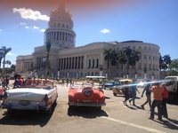 Central government building Havana.