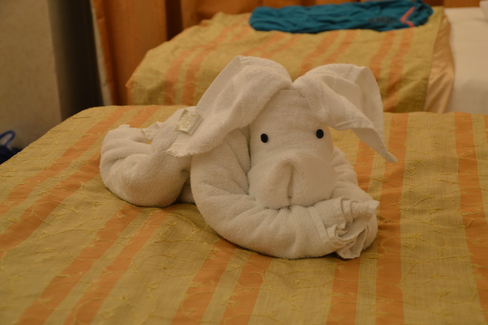 What a cutie - Towel animal fun