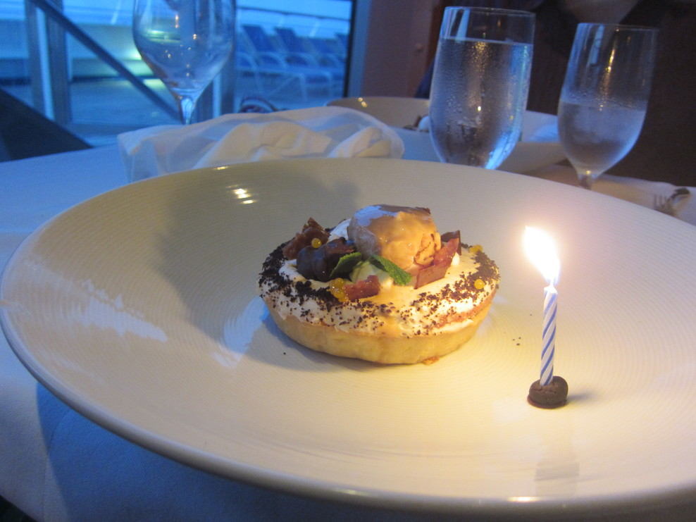 The Scarlet Steakhouse helps us celebrate the Birthdays - they went the extra mile!