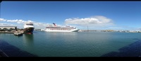 View from balcony at port canaveral