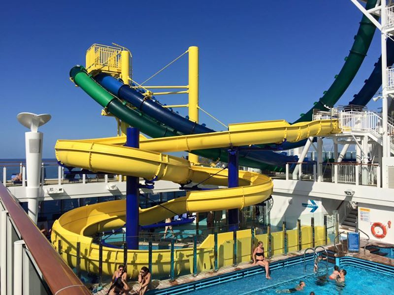 Kids water slide