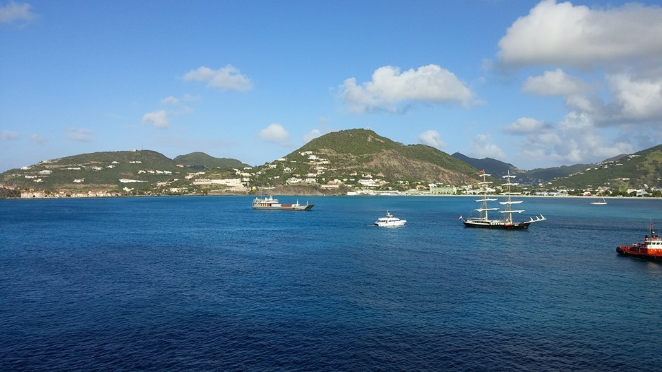 Woke up this view of St. Martin.