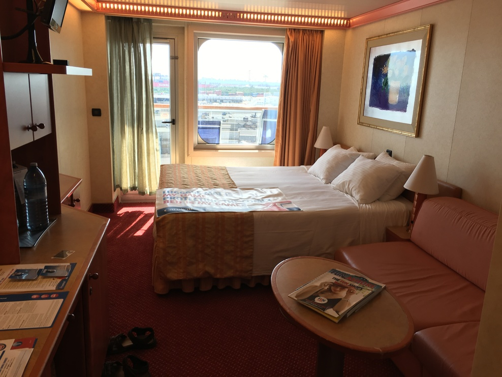 Ship On Carnival Conquest Cruise Ship