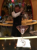 A gorgeous martini, made by the talented Ovidiu from Romania, in Vincent