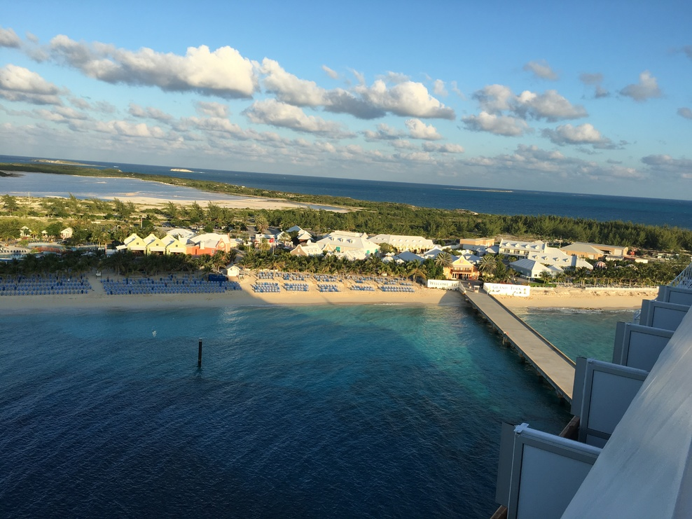 View of Grand Turk from the ship