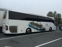 Our wonderful tour bus