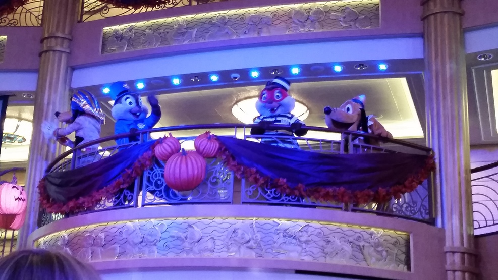 Mickey costume dance party