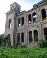This was taken in Vidin Bulgaria of an abandoned Jewish temple.  Was amazing