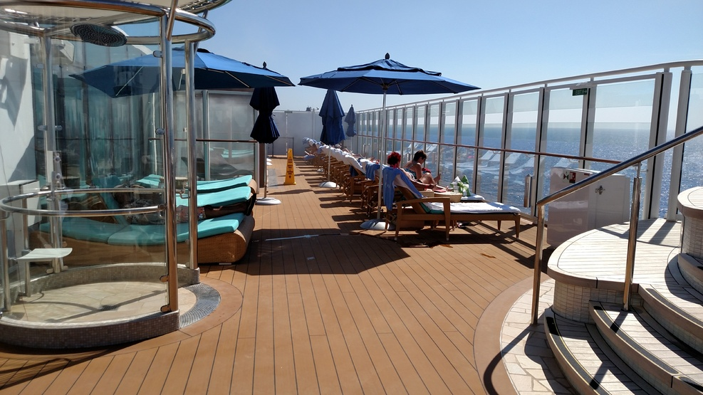The Vibe Deck on the Norwegian Escape.