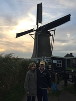 Visiting the windmills