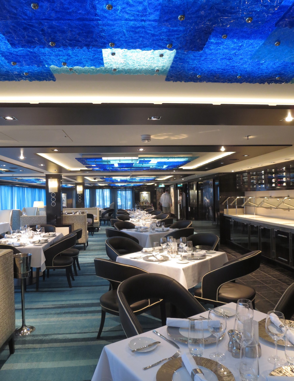 Haven private dining rm.