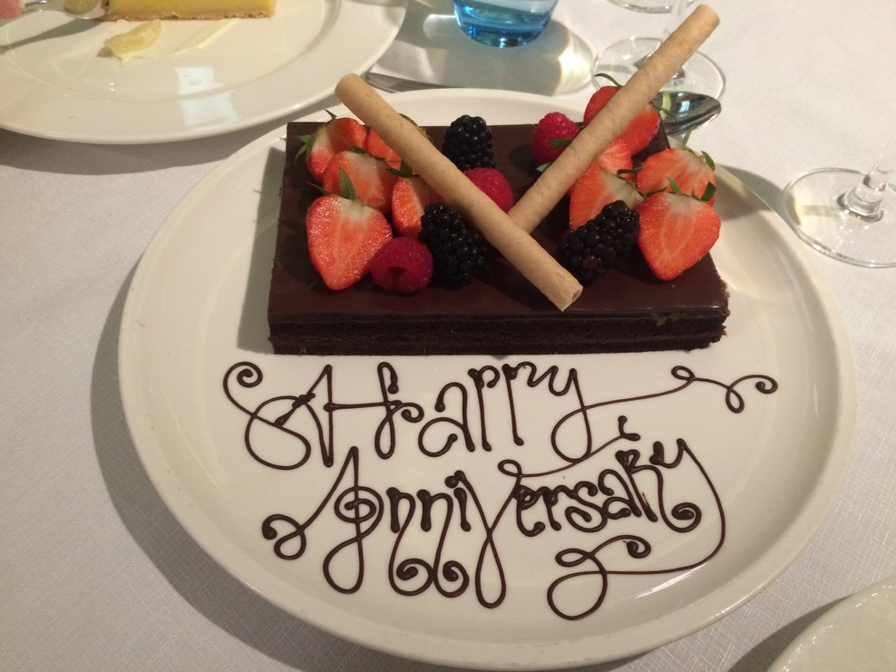 We celebrated our 50th wedding anniversary in style aboard the Viking Star.