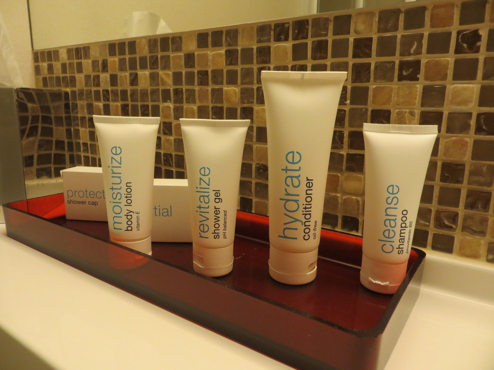 Cabin 9296 C2 Concierge toiletries