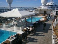 The pools and hot tubs on deck 11