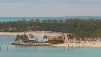 Castaway Cay from our balcony