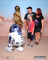 Even the Droids made each family a priority and visited.