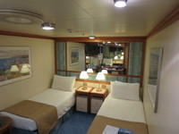 Cabin - interior room