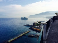 The Constellation in port in Sorrento.