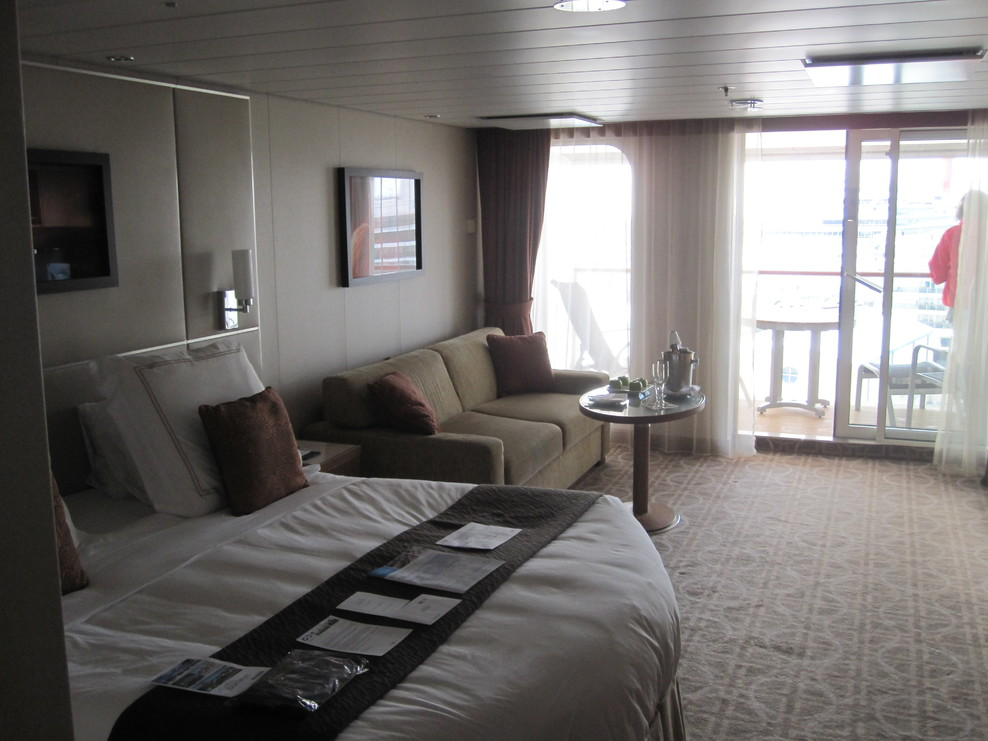 Sky Suite, Cabin Category V6, Celebrity Silhouette