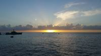 Sunset in Cozumel.