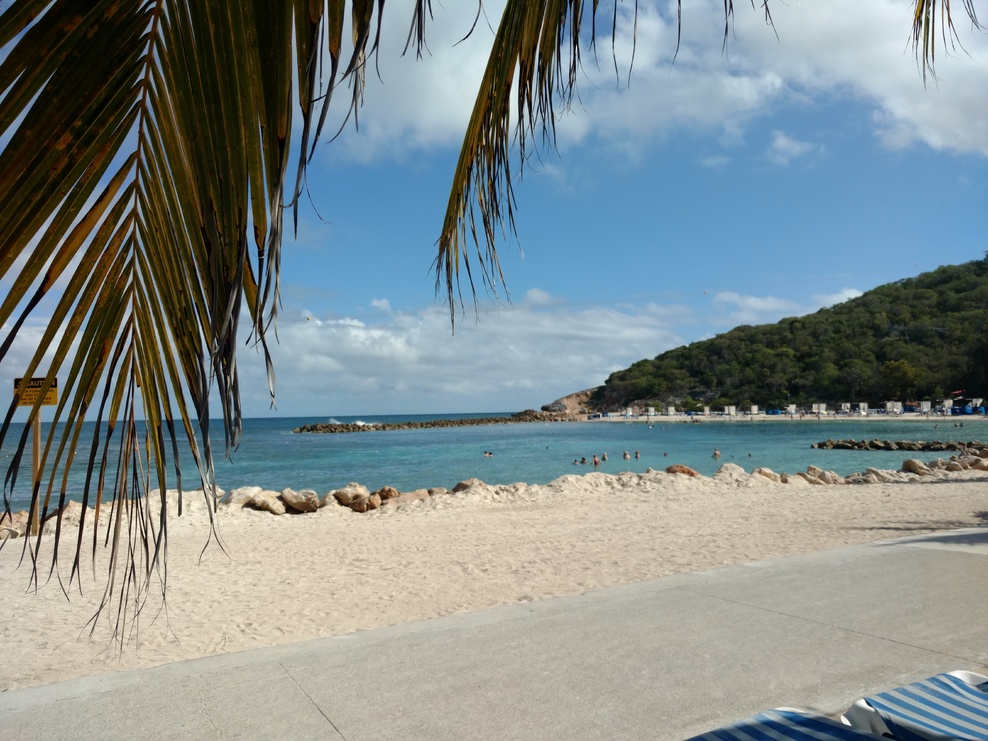 Labadee. The only port on our original itinerary we managed to see. Our Western Caribbean cruise ended up being delayed a day due to Storm Jonas and our new itinerary was St Kitts, St Maarten, Puerto Rico, St Thomas & Labadee Haiti.