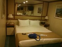 Room A403 on Aloha deck (inside cabin)