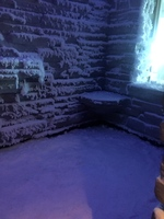 snow room in spa - awesome