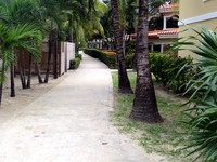 Part of San Simon Beach Resort in Roatan.