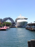 Radiance at Sydney before cruise....