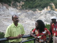 St. Lucia Tour, Cauldron tour at Pitons