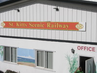 St. Kitts Railway. Very scenic.