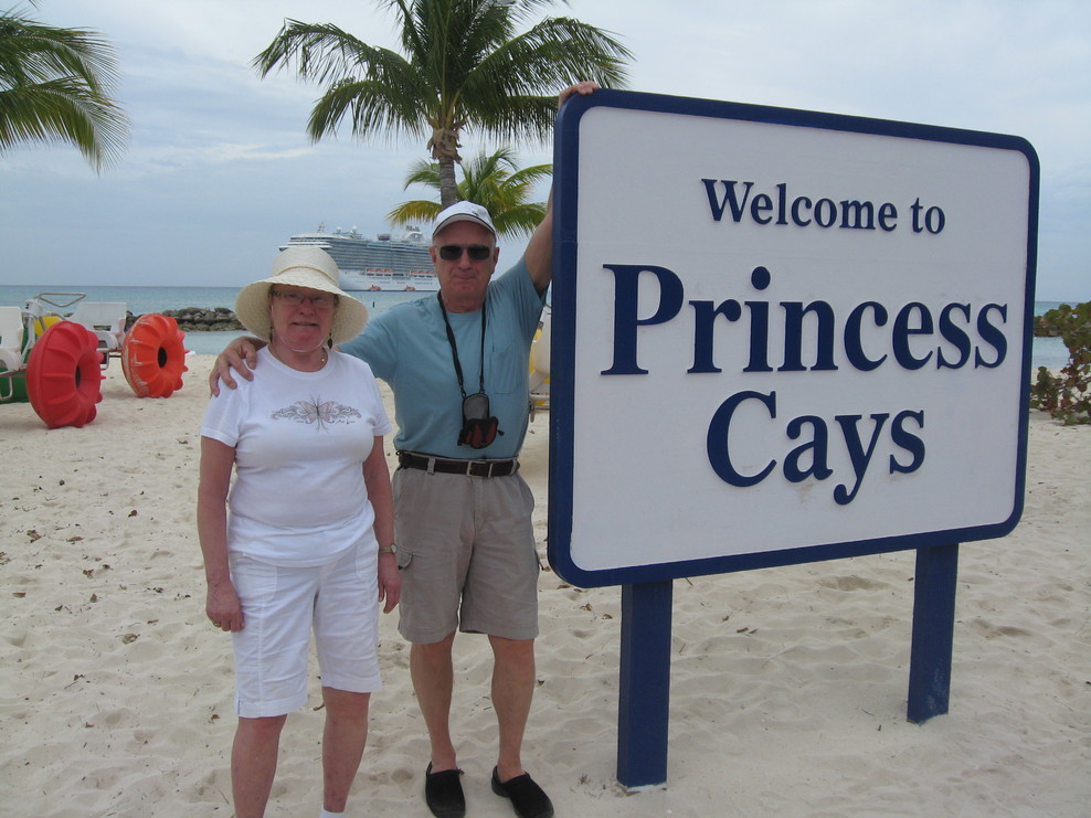 Princess Cay in the Bahamas.