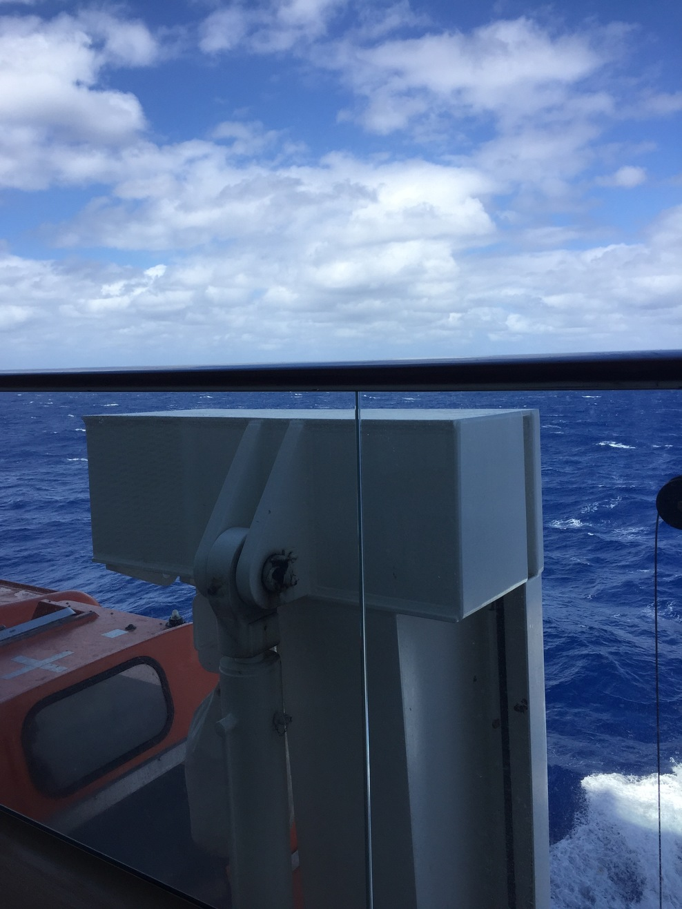 Obstructed view balcony on celebrity silhouette