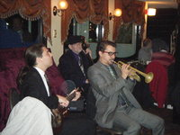 On the creole queen, a Mississippi cruise boat. This was the band